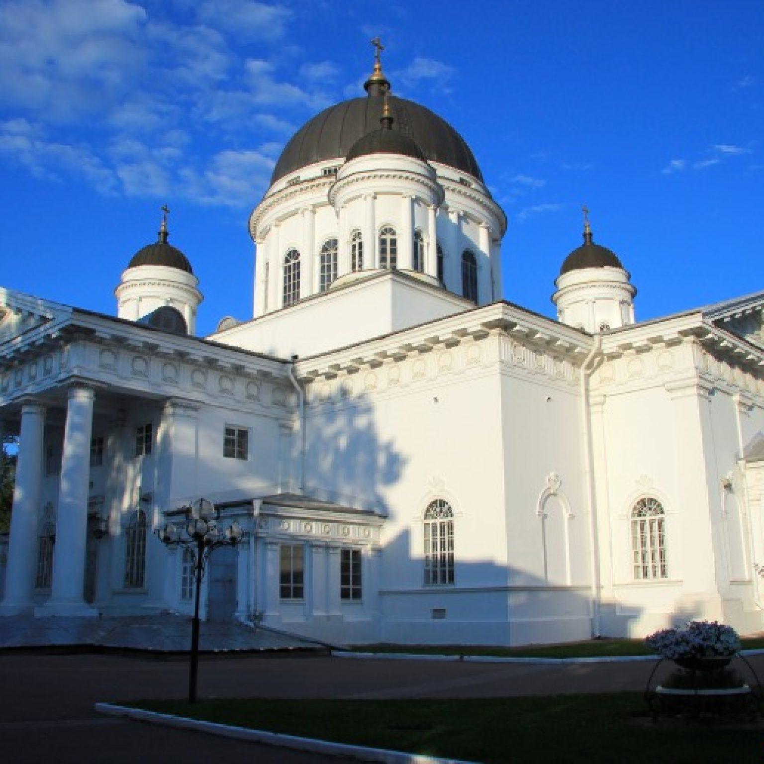 Достопримечательности Нижнего Новгорода: Спасский Староярмарочный собор
