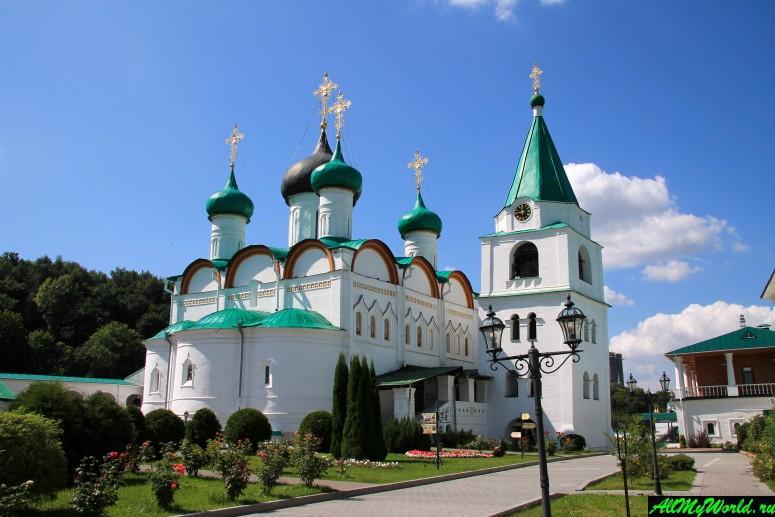 Достопримечательности Нижнего Новгорода: Вознесенский Печерский монастырь