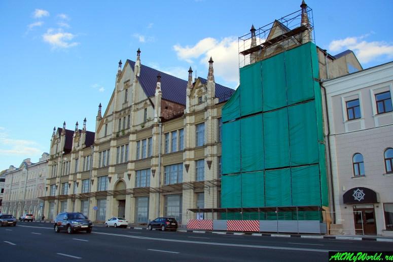 Достопримечательности Нижнего Новгорода: Банк и доходный дом Рукавишникова