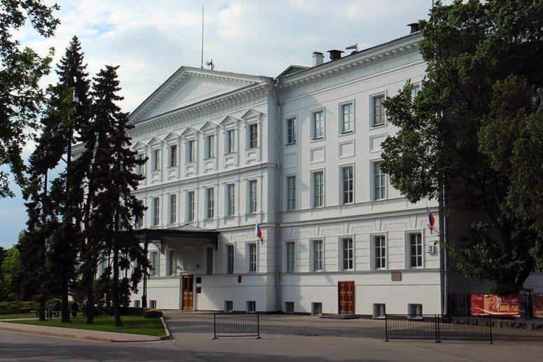 Достопримечательности Нижнего Новгорода: Дом военного генерал-губернатора
