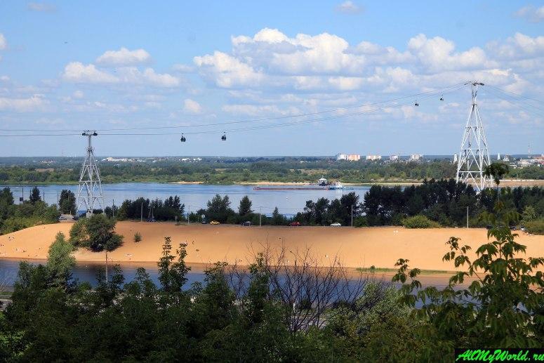 Достопримечательности Нижнего Новгорода: Канатная дорога