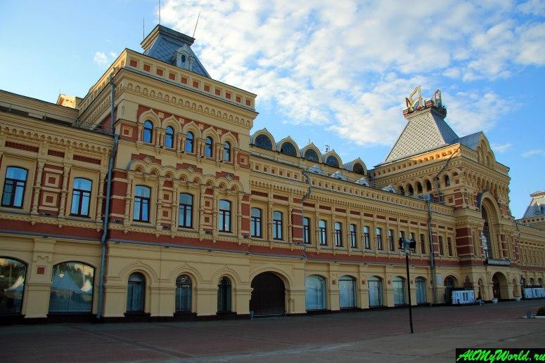 Достопримечательности Нижнего Новгорода: Главное здание Нижегородской ярмарки