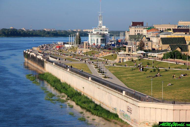 Достопримечательности Нижнего Новгорода: Нижневолжская набережная