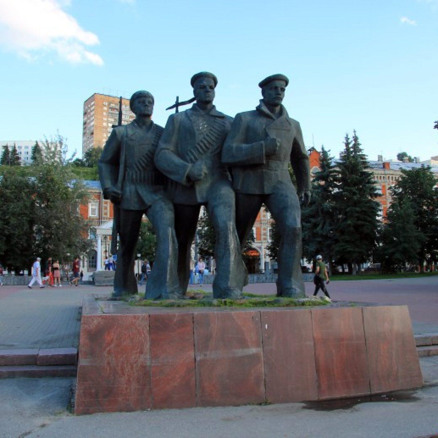 Достопримечательности Нижнего Новгорода: Речной вокзал