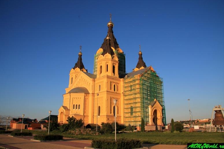 Достопримечательности Нижнего Новгорода: Кафедральный собор Александра Невского