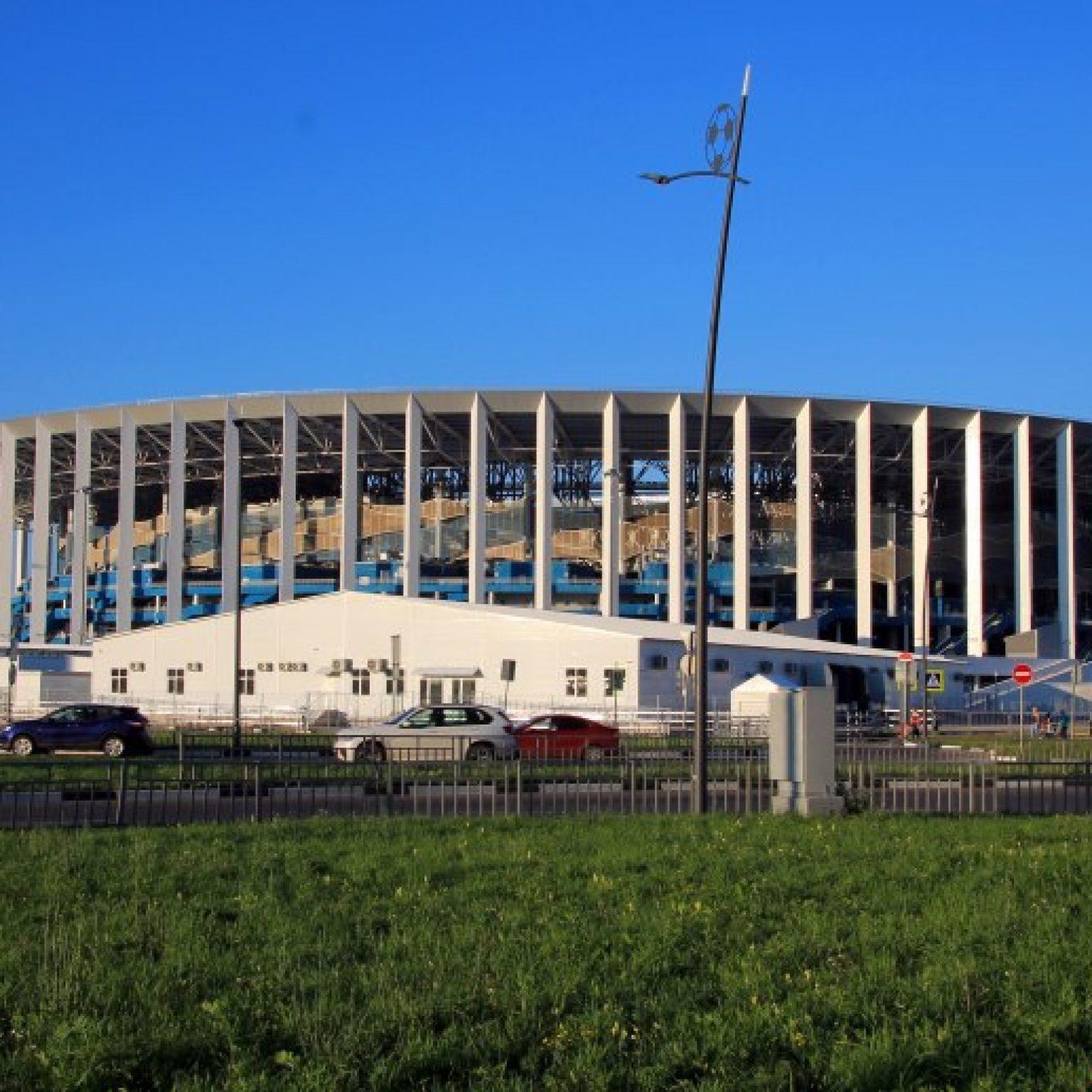 """Достопримечательности Нижнего Новгорода: Стадион """"Нижний Новгород"""""""