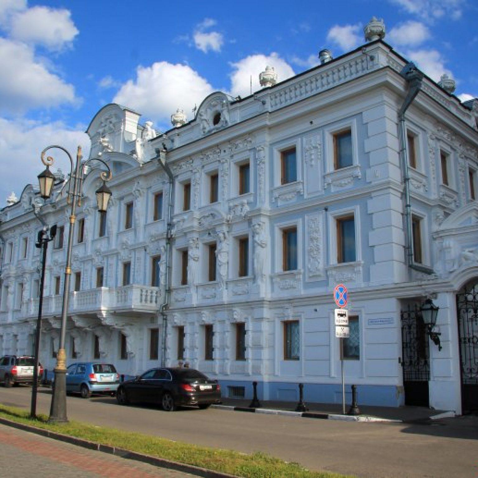 Достопримечательности Нижнего Новгорода: Усадьба Рукавишниковых