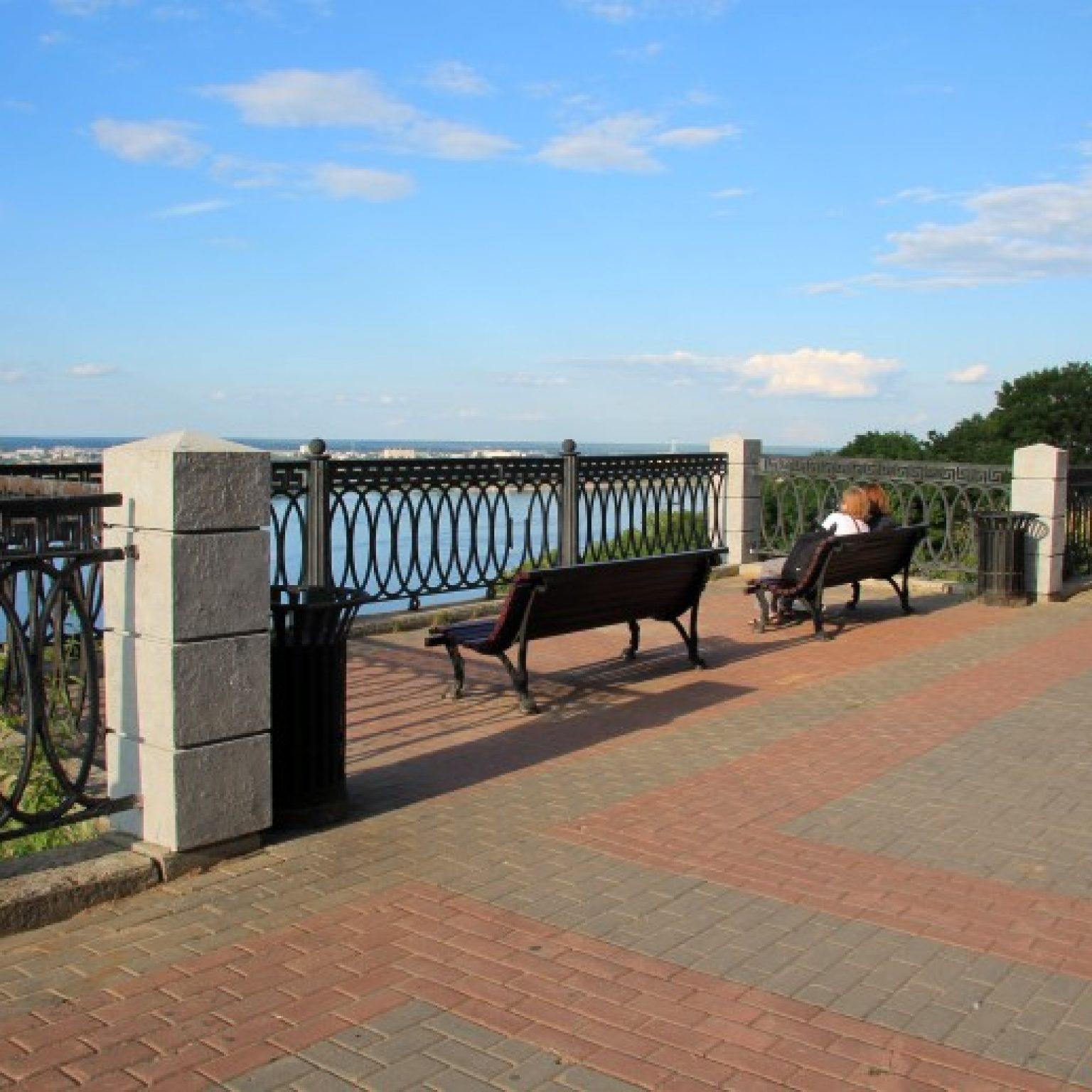 Достопримечательности Нижнего Новгорода: Верхневолжская набережная