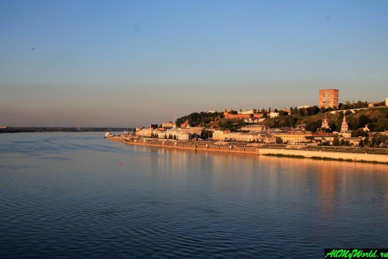 Достопримечательности Нижнего Новгорода: река Волга