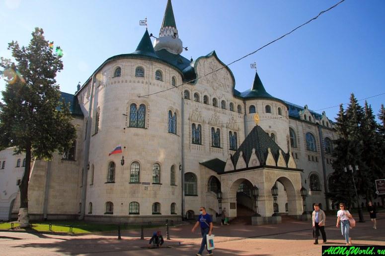 Достопримечательности Нижнего Новгорода: Здание Госбанка