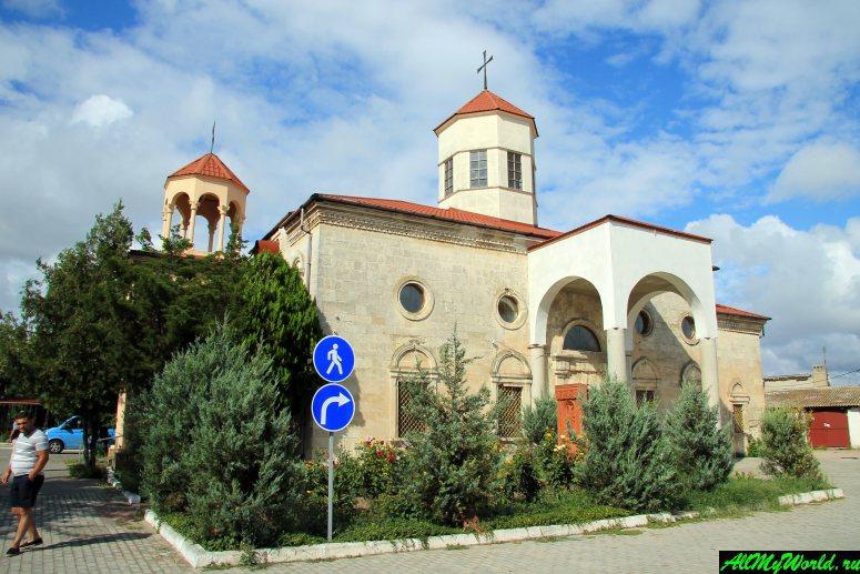 Достопримечательности Евпатории: Армянская церковь Святого Николая (Сурб Никогайос)