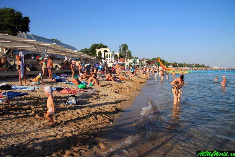Достопримечательности Евпатории: Центральный городской пляж