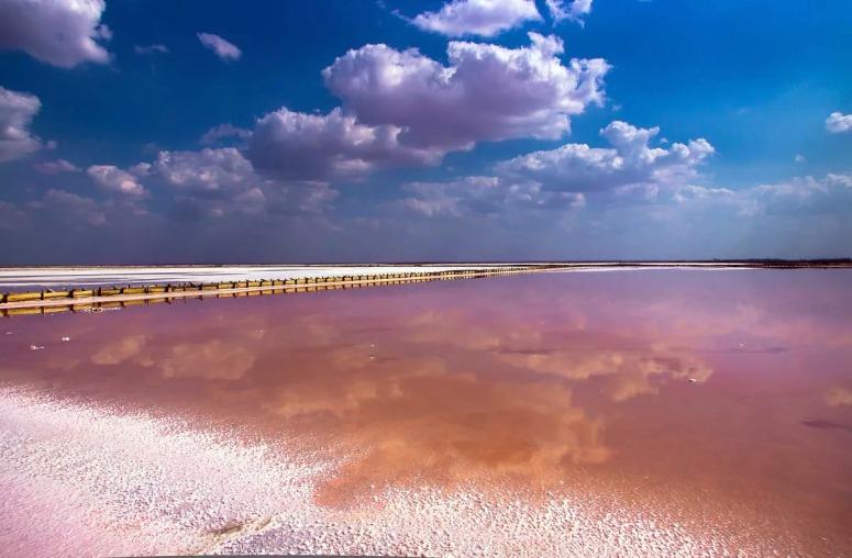 Достопримечательности Евпатории: Соленое озеро Сасык-Сиваш