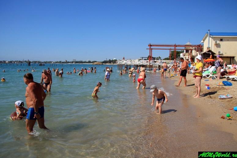 Достопримечательности Евпатории: пляж Оазис