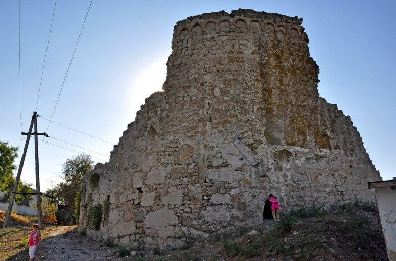Достопримечательности Феодосии: Башня Джованни ди Скаффа
