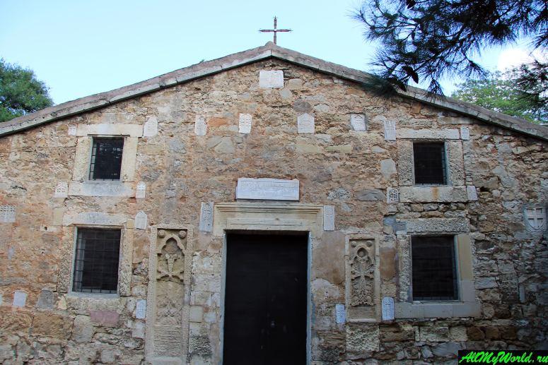 Достопримечательности Феодосии: Храм Сурб Саркис (церковь Святого Сергия)