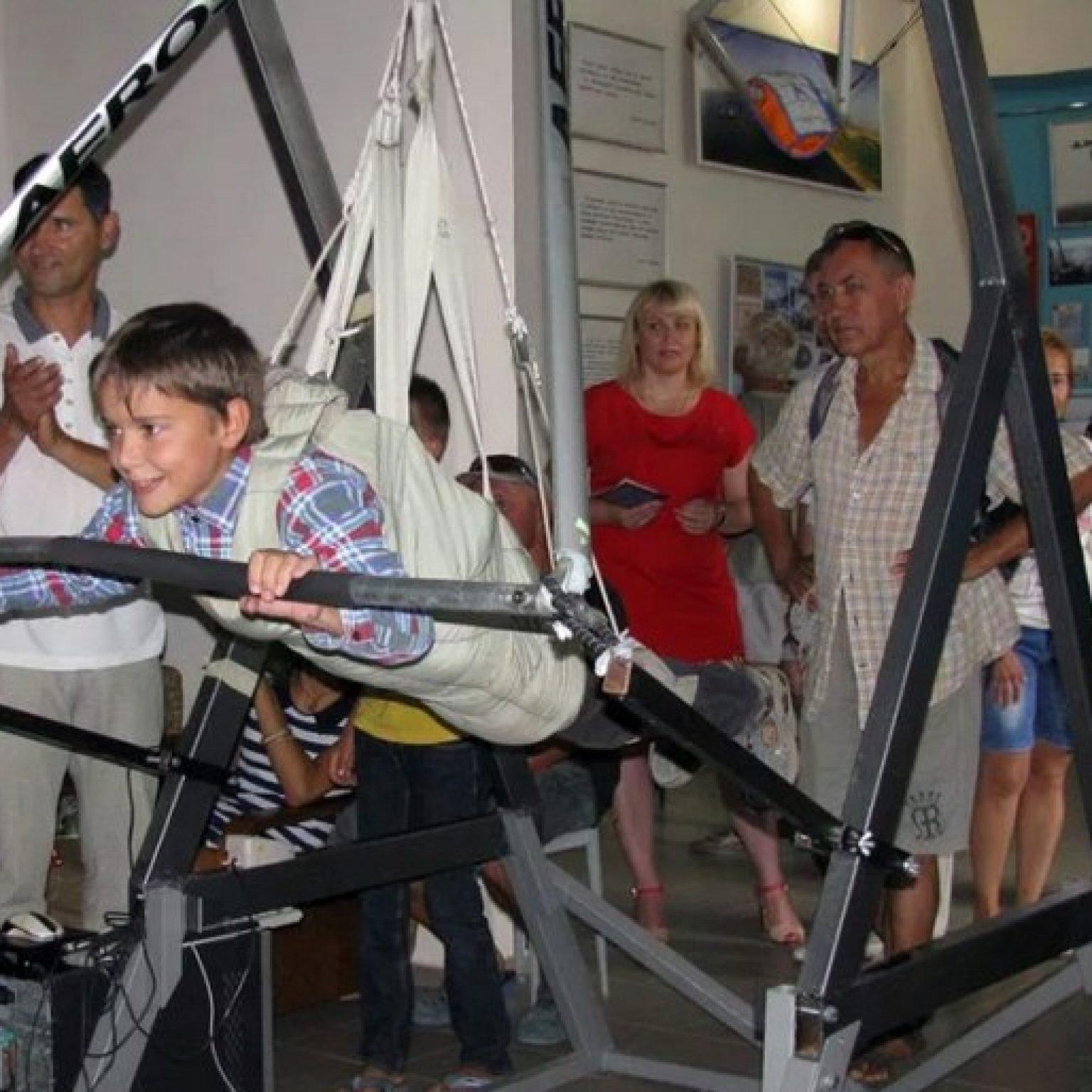 Достопримечательности Феодосии: Музей свободного полета