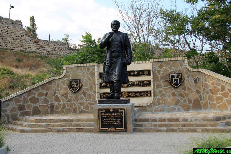 Достопримечательности Феодосии: Памятник Афанасию Никитину