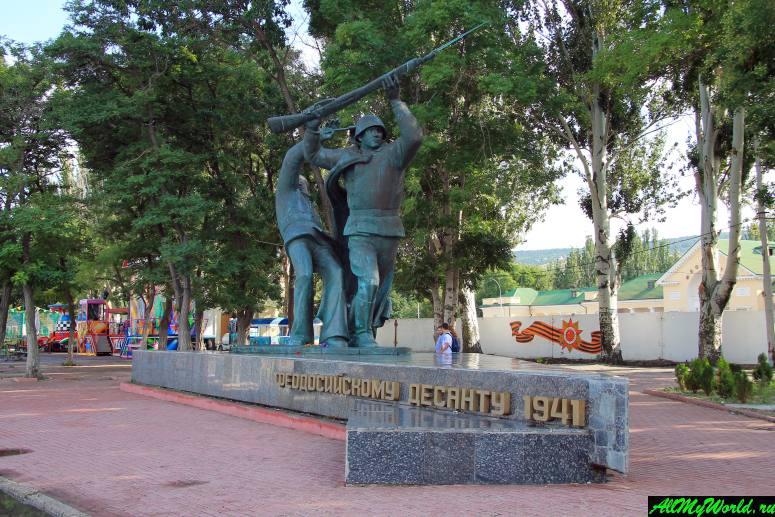 Достопримечательности Феодосии: Памятник феодосийскому десанту