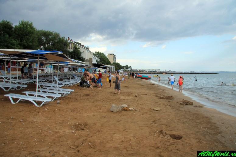 Достопримечательности Феодосии: Первый городской пляж