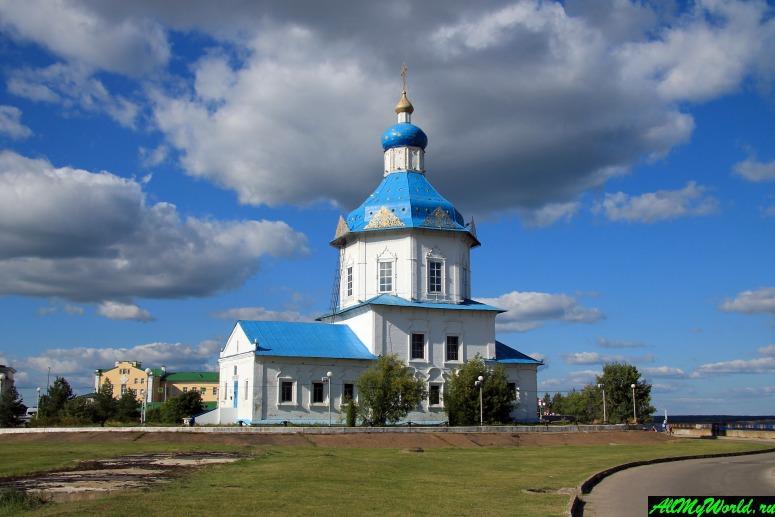 Достопримечательности Чебоксар: Церковь Успения Пресвятой Богородицы