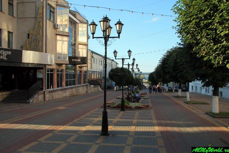 Достопримечательности Чебоксар: бульвар купца Ефремова