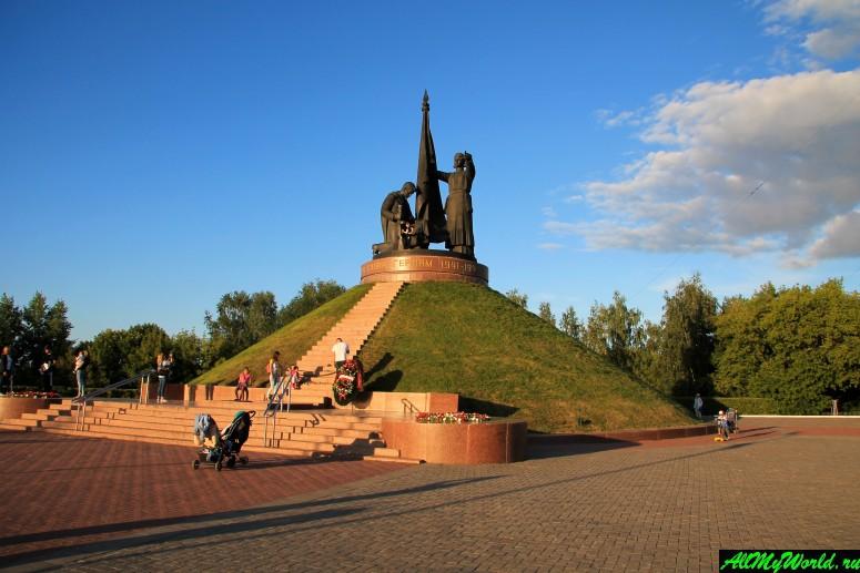 Достопримечательности Чебоксар: Парк Победы