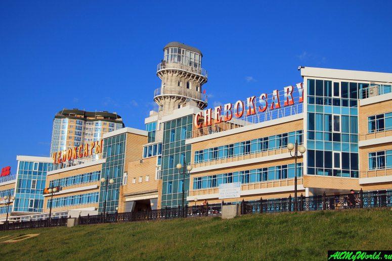 Достопримечательности Чебоксар: Речной порт