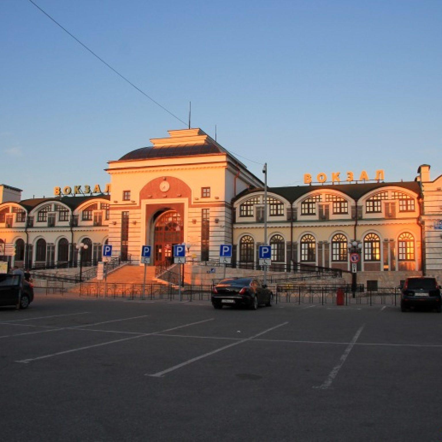 Достопримечательности Чебоксар: Здание железнодорожного вокзала