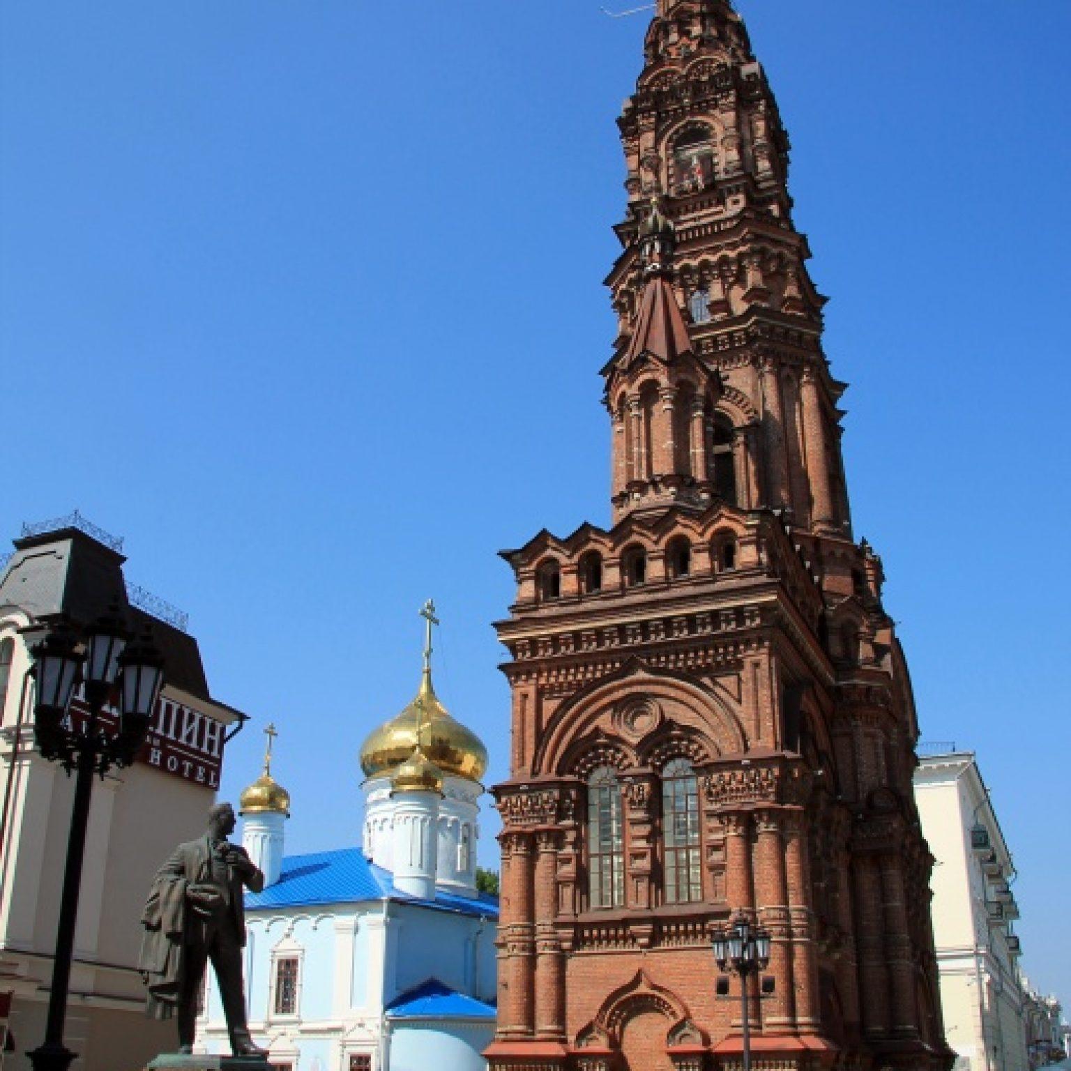 Достопримечательности Казани: Богоявленский собор