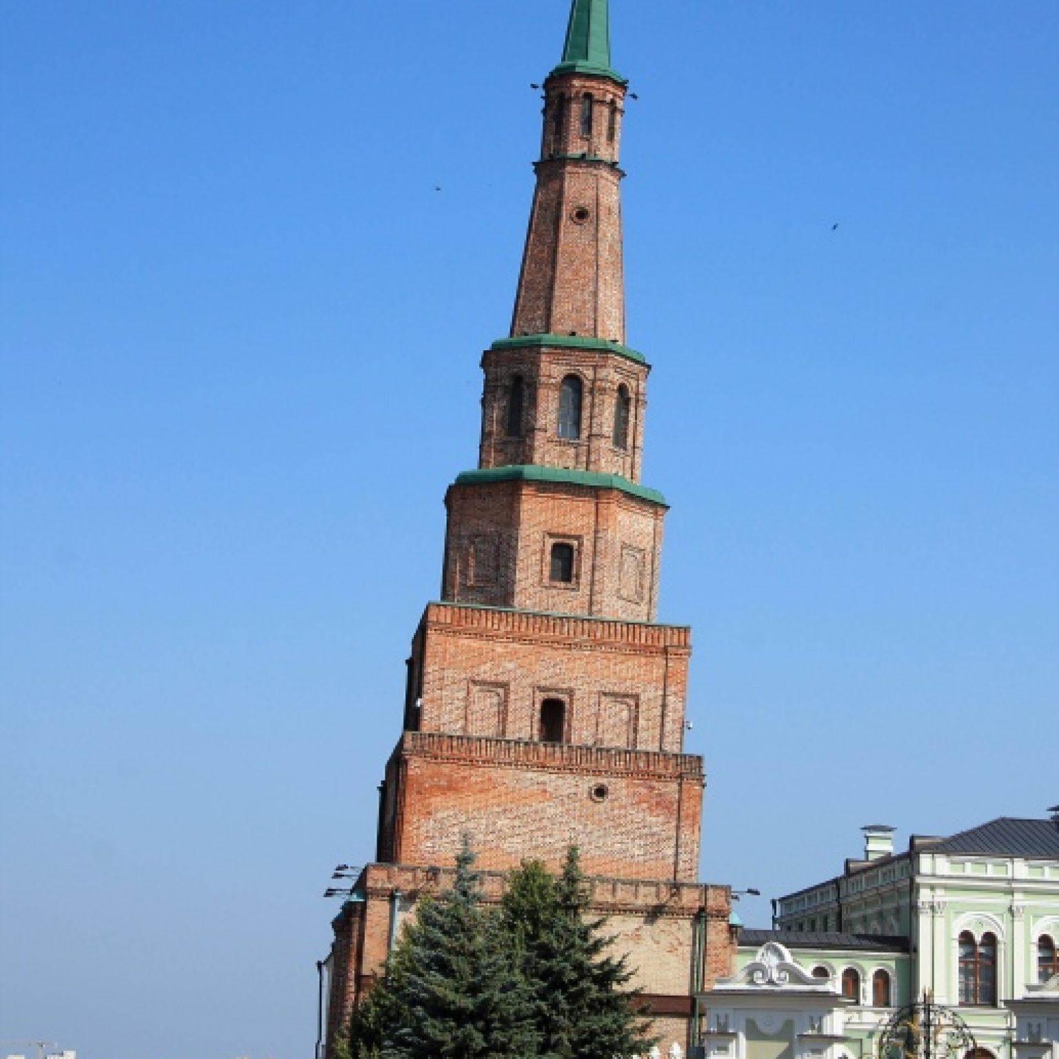 Достопримечательности Казани: башня Сююмбике