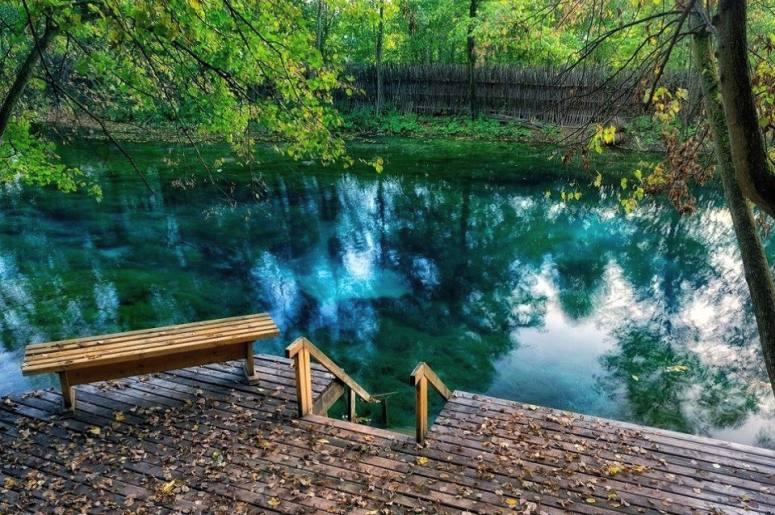 Достопримечательности Казани: Голубые озера