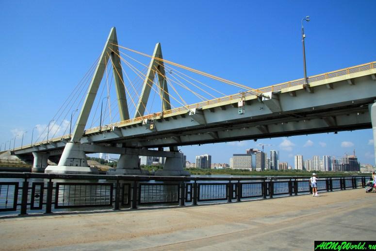 Достопримечательности Казани: мост Миллениум