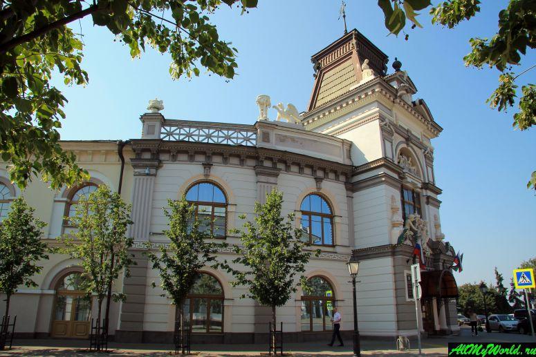 Достопримечательности Казани: Национальный музей Республики Татарстан