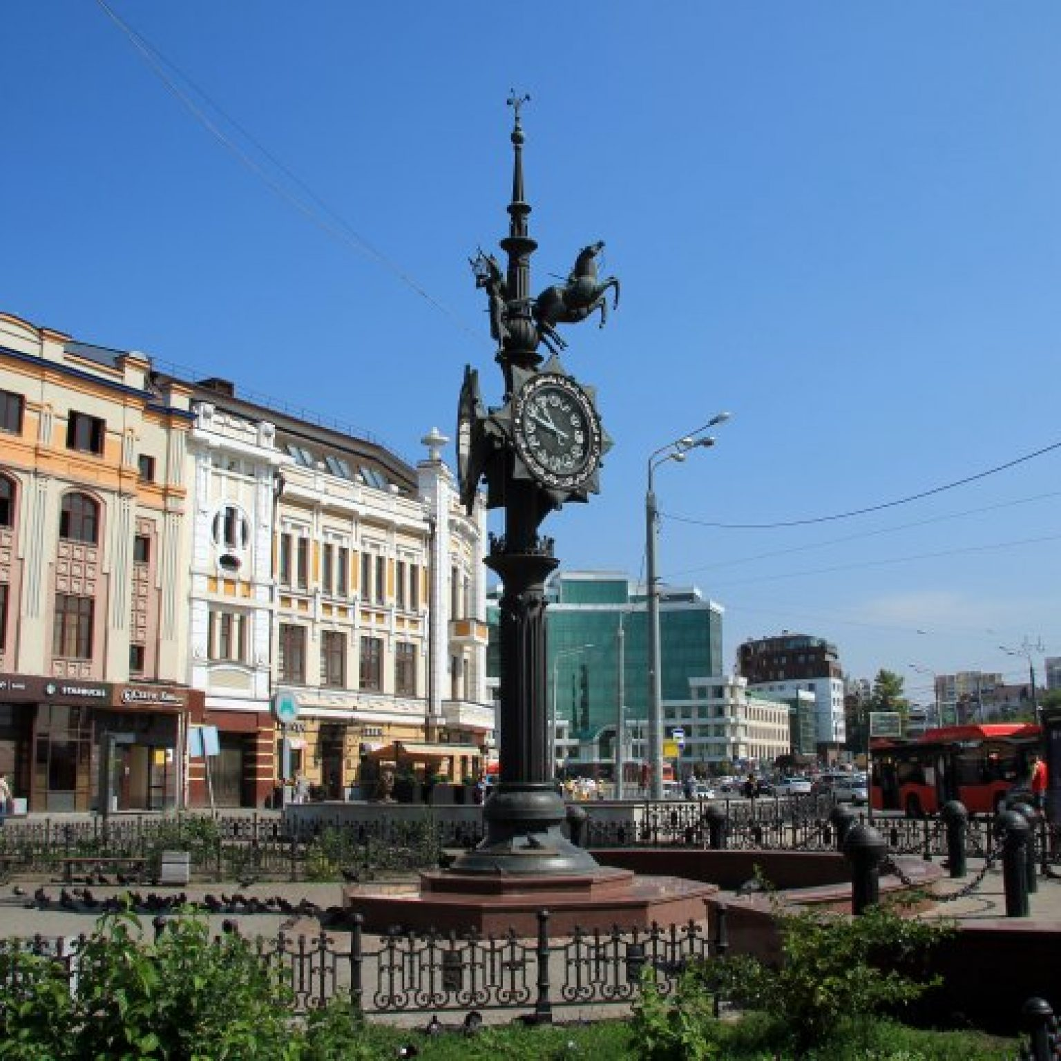 Достопримечательности Казани: площадь Тукая