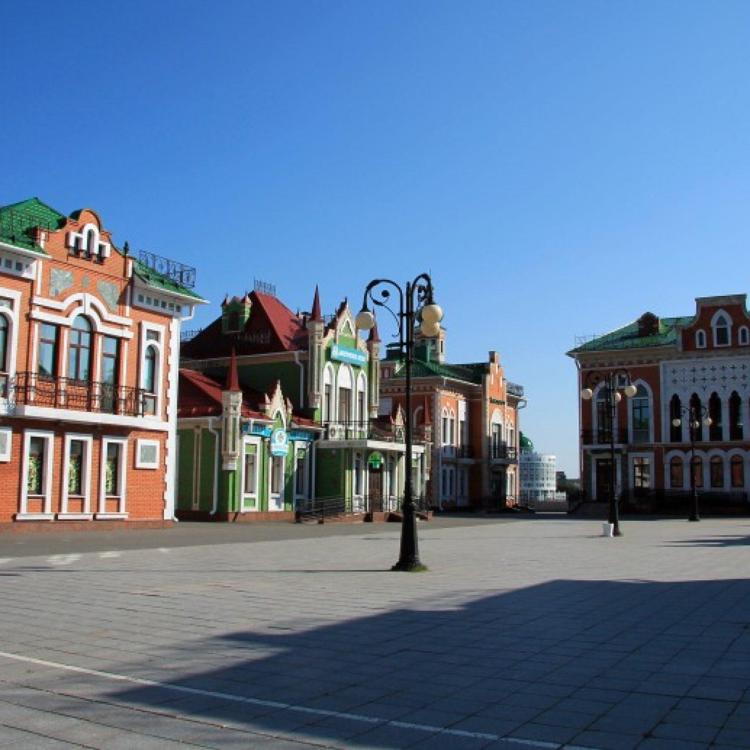 Достопримечательности Йошкар-Олы: Архангельская слобода