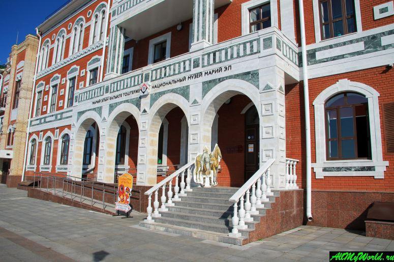 Достопримечательности Йошкар-Олы: Национальный музей Республики Марий Эл