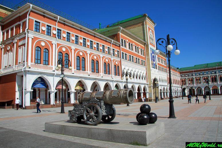 Достопримечательности Йошкар-Олы: Площадь Оболенского-Ноготкова