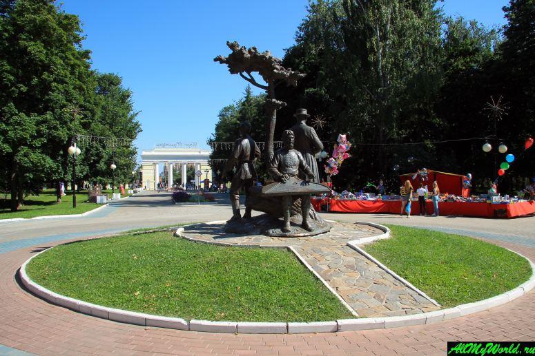 Достопримечательности Йошкар-Олы: Центральный парк культуры и отдыха
