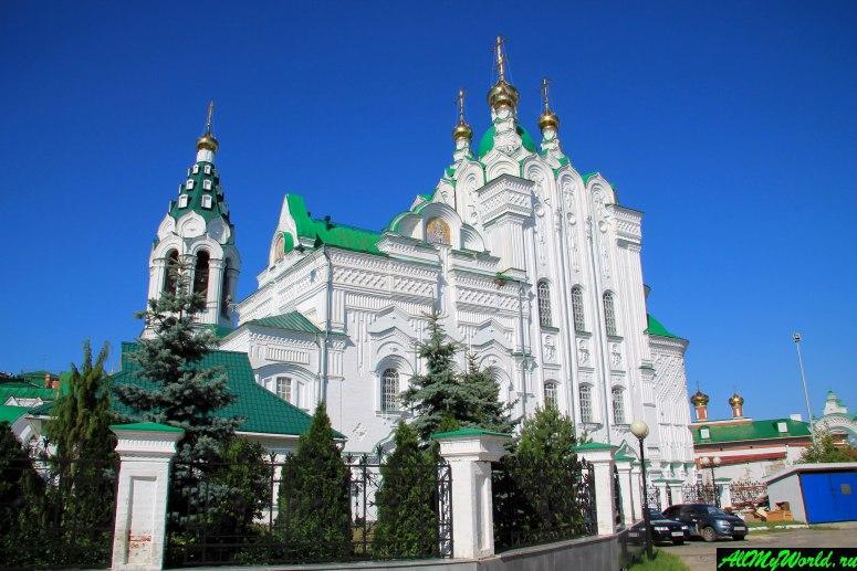 Достопримечательности Йошкар-Олы: Церковь Пресвятой Троицы