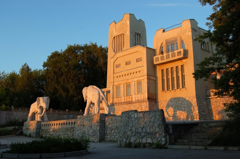 Достопримечательности Самары: Дом со слонами