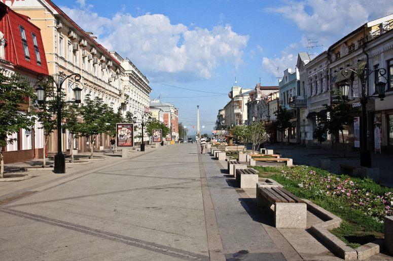 Достопримечательности Самары: Ленинградская улица
