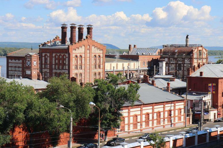 Достопримечательности Самары: Жигулевский пивоваренный завод