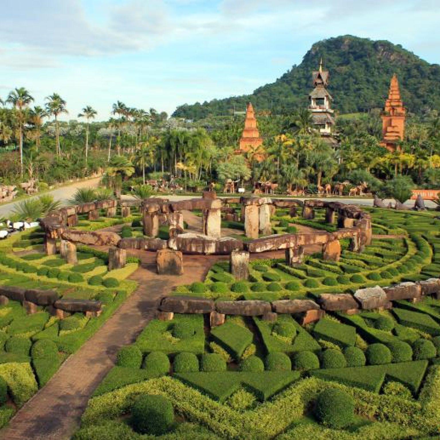 Тропический парк Нонг Нуч - яркая достопримечательность в окрестностях Паттайи