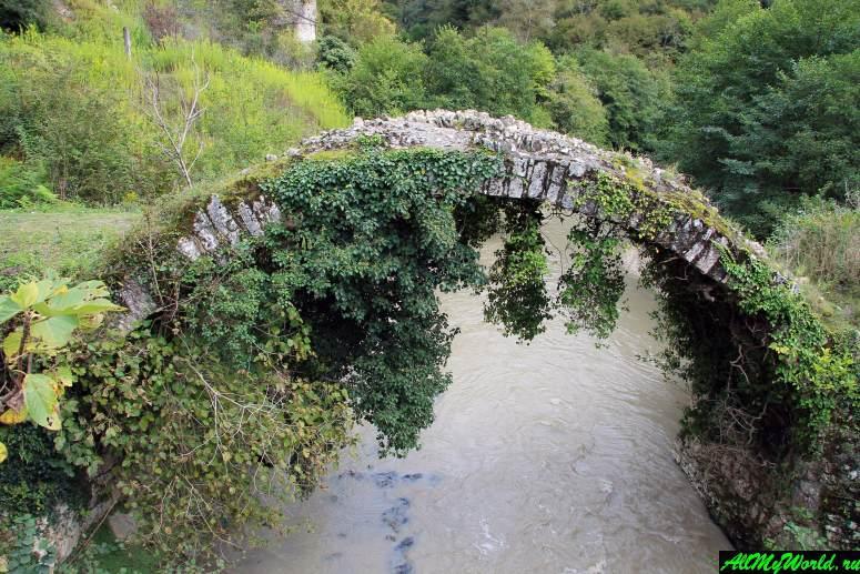 Достопримечательности Абхазии: Беслетский мост
