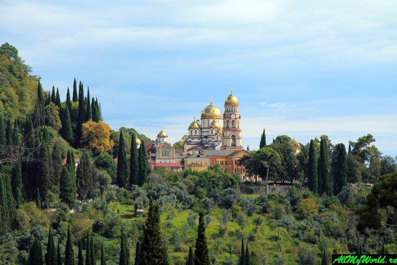 Достопримечательности Абхазии: Новоафонский Симоно-Кананитский монастырь