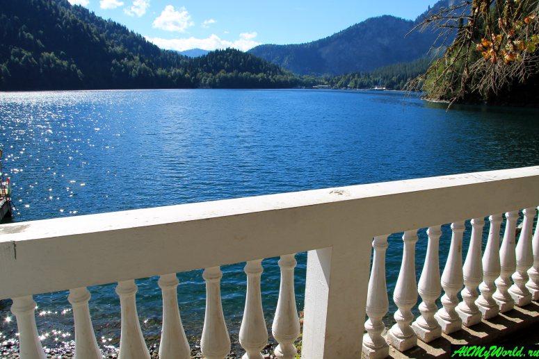 Достопримечательности Абхазии: Озеро Рица