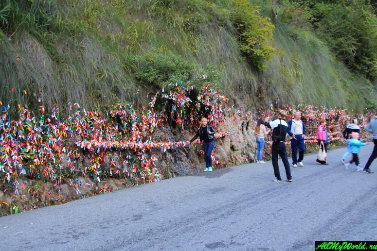 Достопримечательности Абхазии: Водопад Девичьи слезы