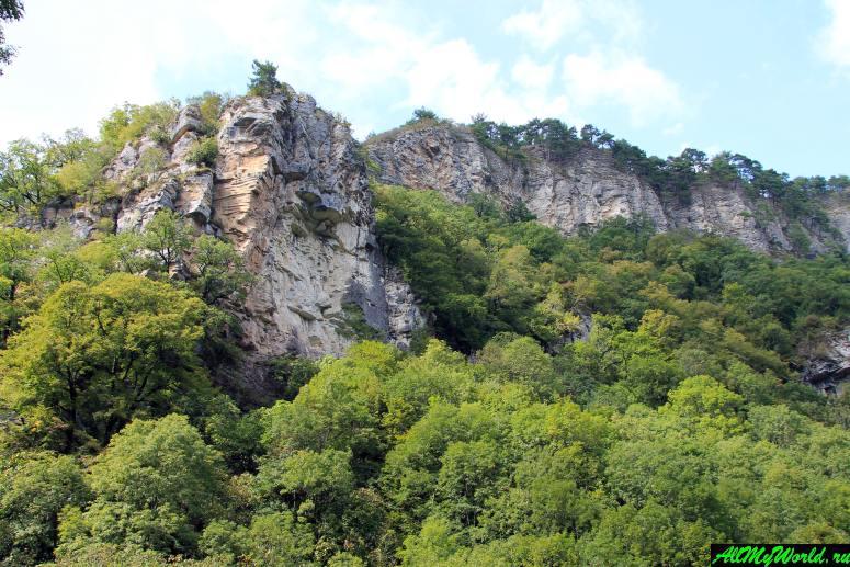 Достопримечательности Сочи и Адлера: Агурское ущелье и Орлиные скалы