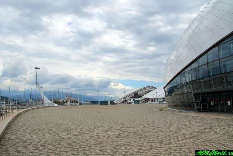 Достопримечательности Сочи и Адлера: Олимпийский парк